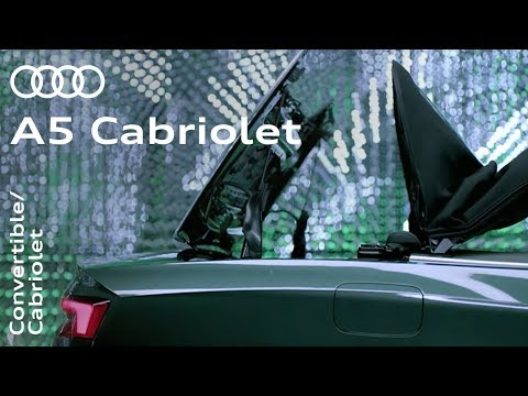 The all-new Audi A5 Cabriolet: Come rain or shine.