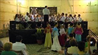 Ópera flamenca (Pasodoble) - Banda de Música Villa de Marchena, con asoc. de baile El Roete.