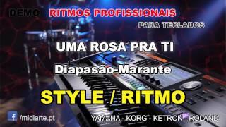 ♫ Ritmo / Style  - UMA ROSA PRA TI - Diapasão-Marante