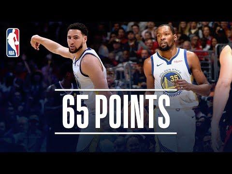 Kevin Durant & Klay Thompson Put Golden State Up 3-1 | April 21, 2019