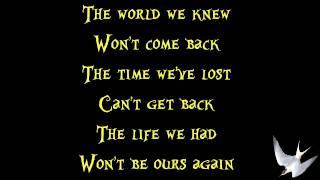 Three Days Grace - Never Too Late [Lyrics] HD