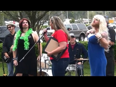 Preview of the 2014 Womanless Beauty Pageant at Bozard Ford