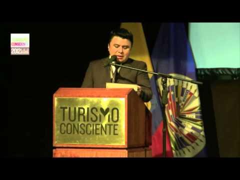 Turismo Consciente 2012, Ecuador, Vice-Ministro Luis Falconi, Formalización de Acuerdos, OEA