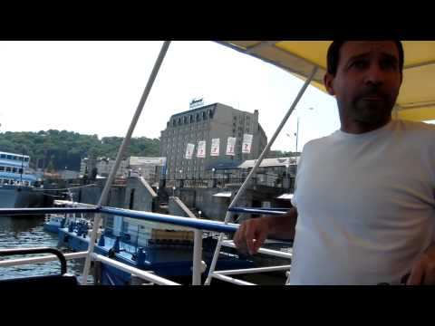 Viaje turístico a Ucrania (KIEV) Travel to Ukraine. Boating