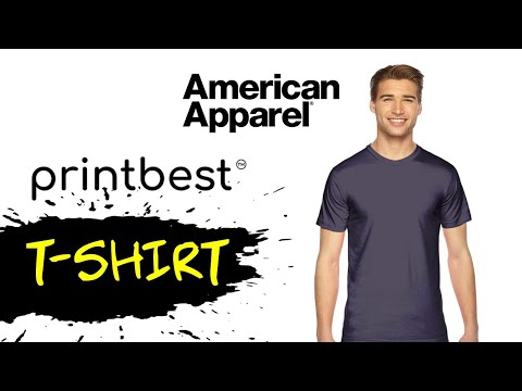 PRINTBEST American Apparel T-Shirt Review