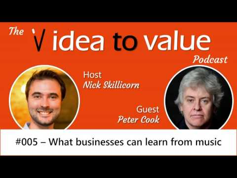 #005 Peter Cook - What businesses can learn from music