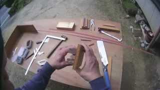 面木定規の作り方/面木の斜めカットがスムーズに!型枠大工さん必見
