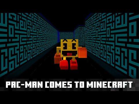 パックマンが Minecraft に登場!のサムネイル