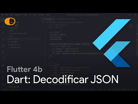 Flutter 4b: Decodificar JSON