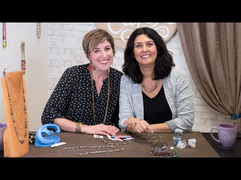 Artbeads Cafe - Knotting with the Knot-a-Bead Tool with Candie Cooper and Cynthia Kimura