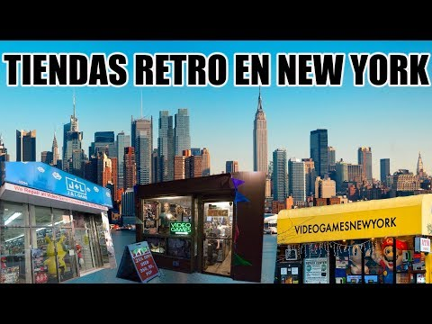 Tiendas Retro en New York