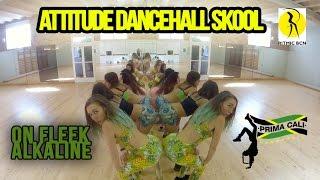 Alkaline- On Fleek - Dancehall Choreography @AidaPrimaCali