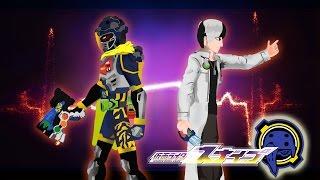 【仮面ライダーエグゼイド】PIVOT Kamen Rider Ex-Aid SNIPE Level 1&2 Henshin and Finisher