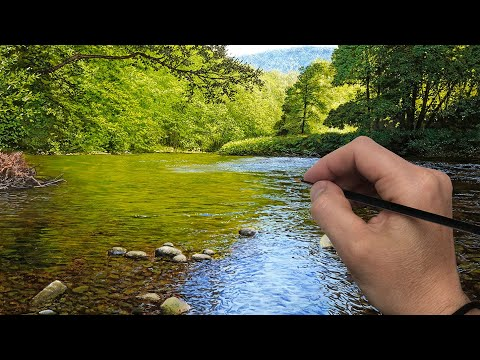 Painting a Shallow River | Episode 196
