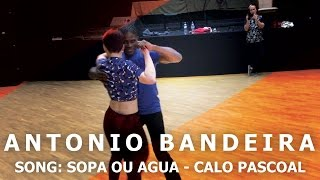 Sopa ou Agua -  Calo Pascoal | Antonio Bandeira Kizomba Dance Demo | 2016 HD