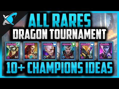 ALL RARES DRAGON TOURNAMENT... Are you ready ?! | RAID: Shadow Legends