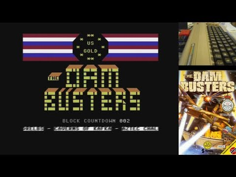 Juegos Épicos - The Dam Busters - Commodore 64 real