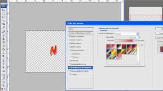 Tutoriais Photoshop - CS3 - Criando o efeito de fonte/letra do Naruto