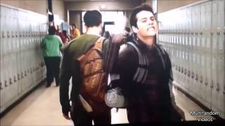 Teen Wolf Cast Funny  Everybody was Kung Fu Fighting