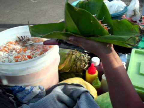 Street food in Granada, Nicaragua