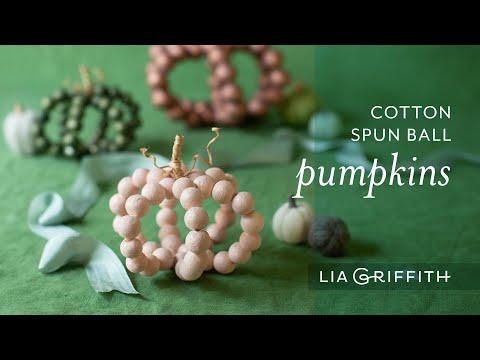 DIY Easy Paper Ball Pumpkins for Halloween