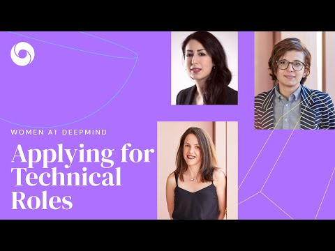 Women at DeepMind   Applying for Technical Roles