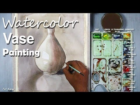 Still Life in Watercolor | Painting A Vase