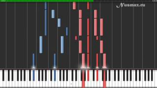 National Anthem of the USSR / Russia (Гимн России) Piano Tutorial (Synthesia + Sheets + MIDI)