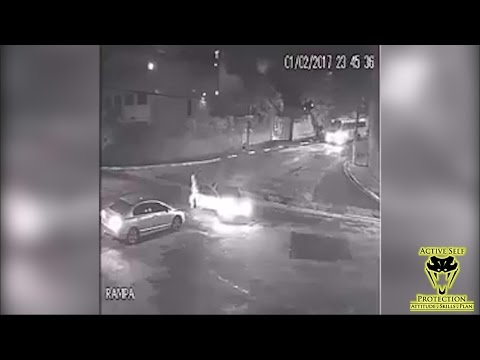 Armed Victim Absolutely WRECKS Carjacker   Active Self Protection