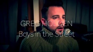 Greg Holden - Boys in the street (cover by Johannes Becker)