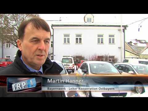 TRP 1: Neue E-Ladesäule am Netzcenter Vilshofen
