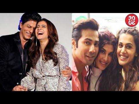 SRK-Kajol Jodi Wont Be Seen Soon | Varun Dhawan Hangs Out With Jacqueline & Taapsee