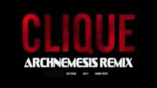 Kanye West - Clique ft. Big Sean & Jay-Z (Explicit) remix by G-9 / MWK RCORDS 1