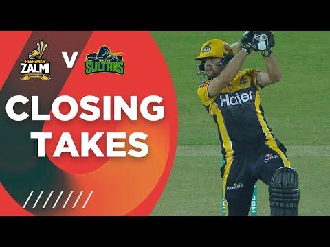 Closing Takes | Peshawar Zalmi vs Multan Sultans | Match 5 | HBL PSL 6 | MG2T
