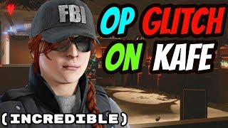 INSANE UNDER THE STAIRS GLITCH ON KAFE - NEVER LOSE (Rainbow six siege)