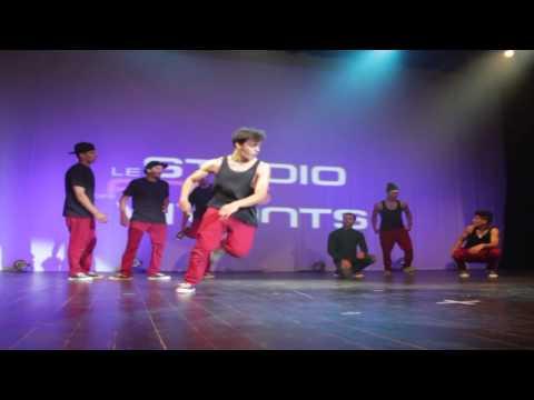 Bboy Kujo  LHIBA KINGZOO Freetyle show in Morocco