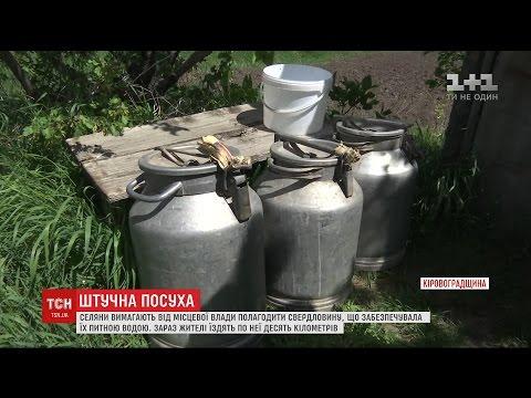 Жителі селища Новгородка потерпають від посухи через несправну свердловину