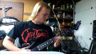 Suffocation Thrones of Blood Guitar Solo Cover