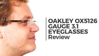 9651aa41b38 Oakley OX5126 GAUGE 3.1 512604 Eyeglasses in Black