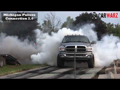BURNOUT COMPETITION AT WMP IN KENT CITY MICHIGAN 2018