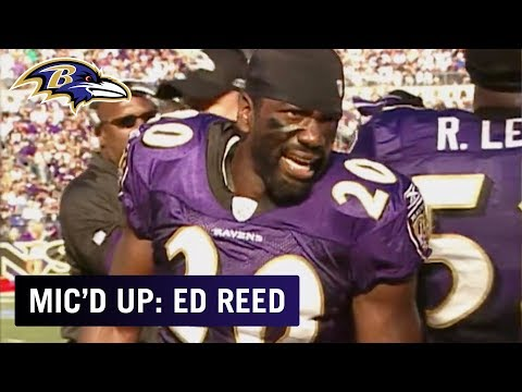 Wired Vault: Ed Reed Mic'd Up In 2007