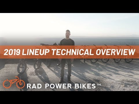 Technical Overview: Rad Power Bikes 2019 Lineup