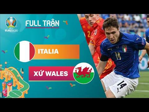 FULL TRẬN   ITALIA vs WALES: Vua bất bại   EURO 2020