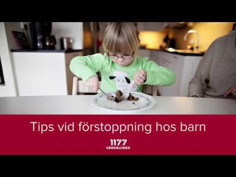 Tips vid förstoppning hos barn