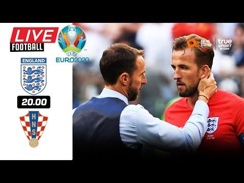 🔴 LIVE FOOTBALL : อังกฤษ 1-0 โครเอเชีย EURO 2020 บอลสดพากย์ไทย 13-6-64