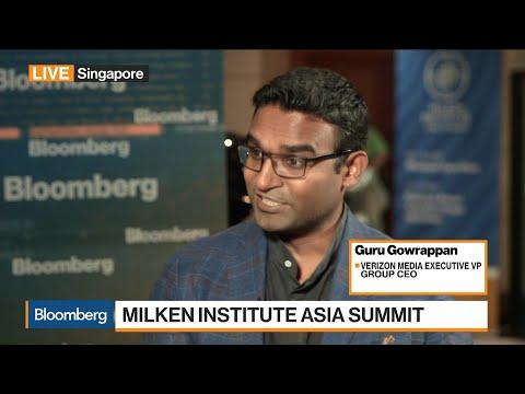 Verizon Media Group CEO on Company Reorganization, Revenue Diversity Plan, Asia Focus