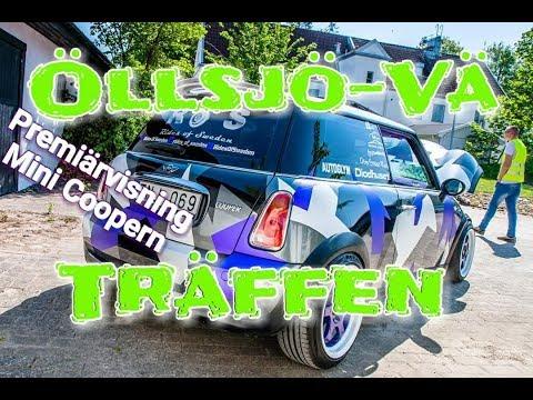 Öllsjö-Vä Träffen 2018 - Premiärvisning av Mini Coopern - ROS