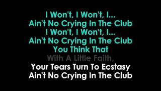 Crying in the Club karaoke Camila Cabello