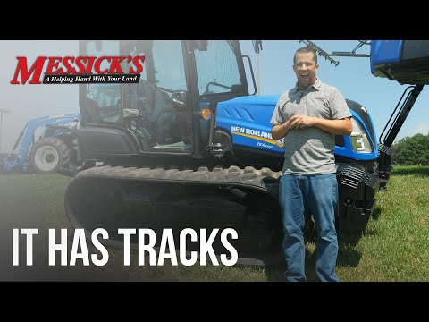Crawler Tractors | New Holland TK4.100M Picture