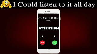 Attention by Charlie Puth ( Marimba Ringtone )